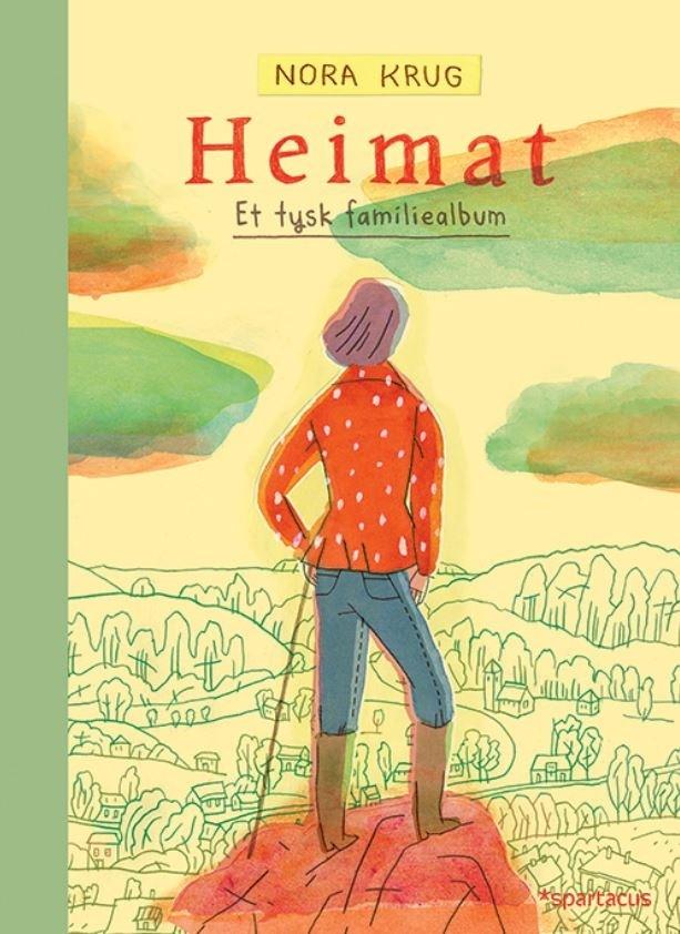 """Omslag av boken """"Heimat"""" av Nora Krug"""