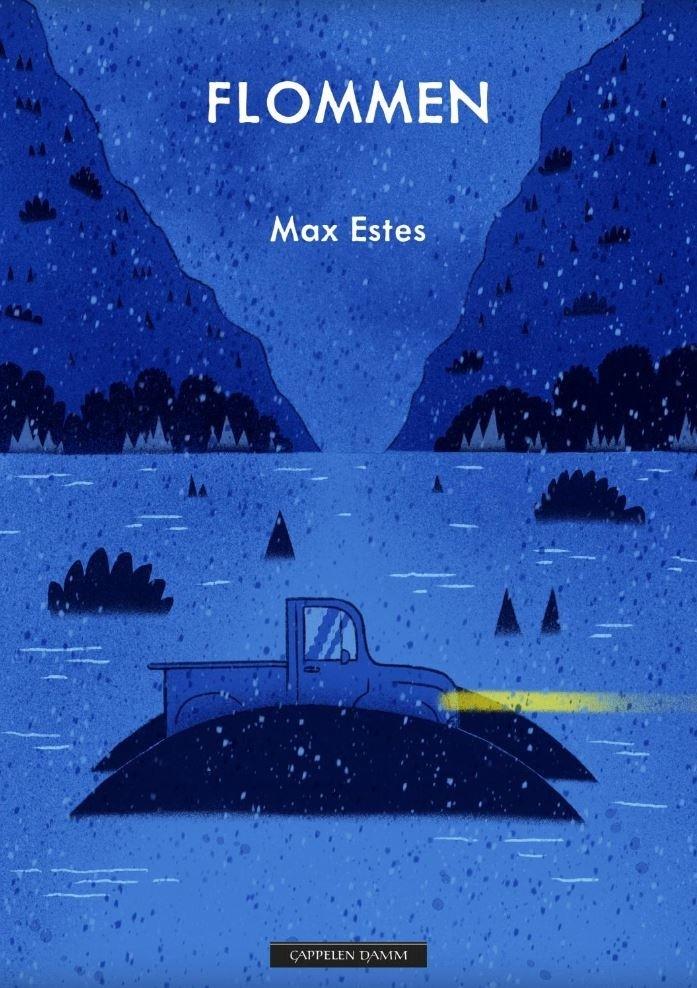"""Omslag av boken """"Flommen"""" av Max Estes"""