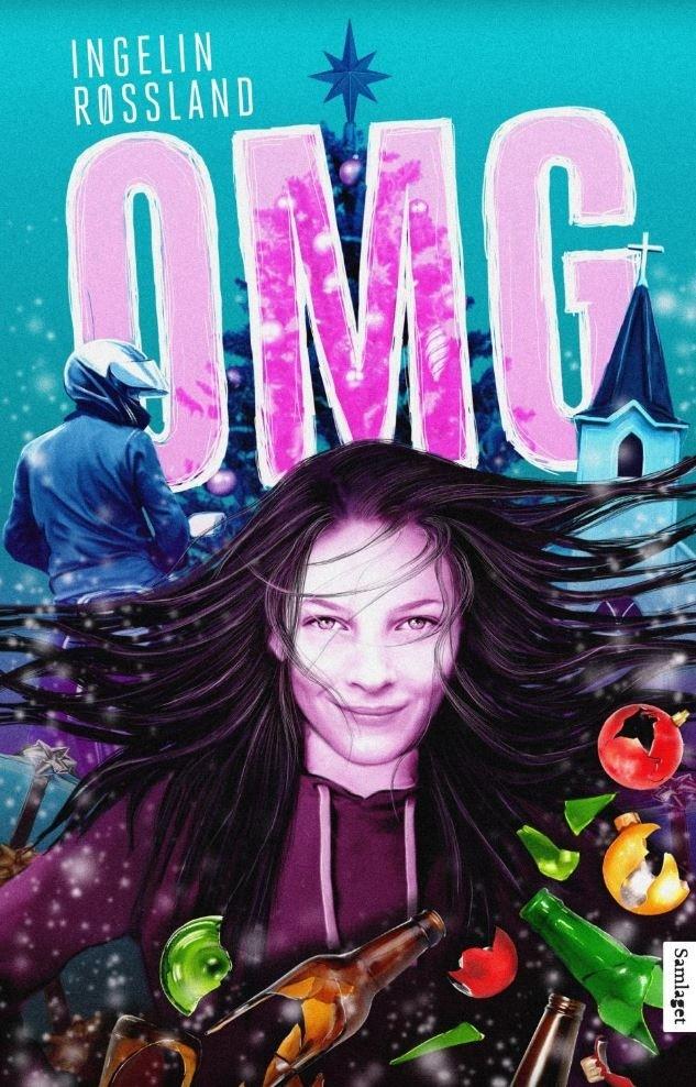 """Omslag av boken """"OMG"""" av Ingelin Røssland"""