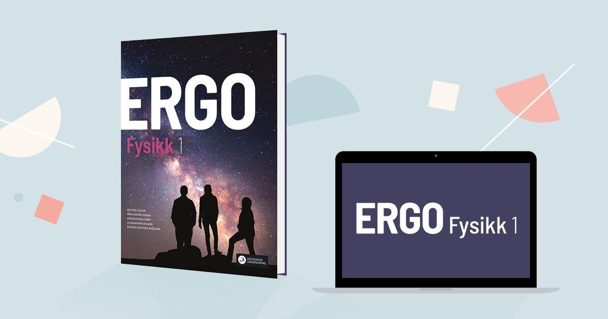 Omslag, ERGO Fysikk.