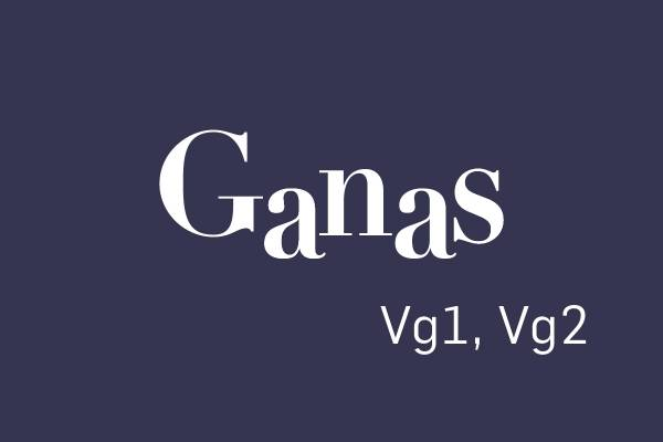 Logobilde Ganas Vg1, Vg2