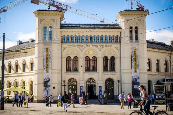 © Johannes Granseth Nobel Peace Center facade september 2016