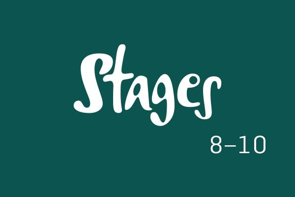 Logobilde, Stages 8-10.