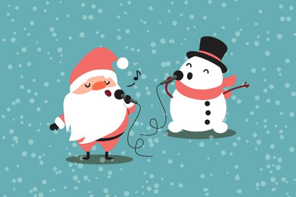Syng julen inn med elevene på tysk, spansk og fransk. [Illustrasjon: iStock]