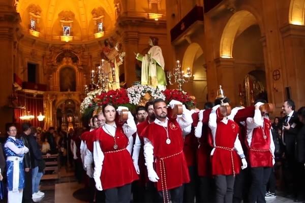 Feiring av Semana Santa i Elche, Spania