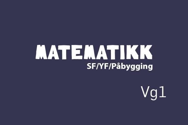 Logobilde Matematikk Vg1