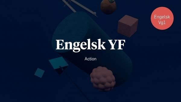 Lynkursillustrasjon for Action – engelsk YF.
