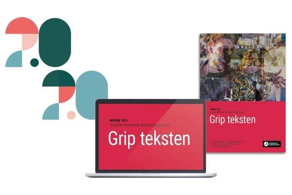 Bokomslag til Grip teksten Vg1 og laptop