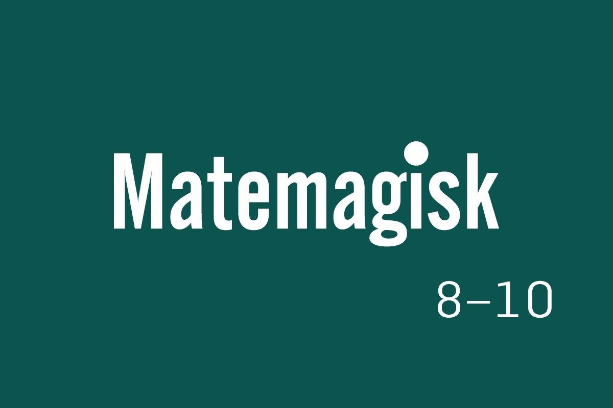 Logobilde, Matemagisk8-10.