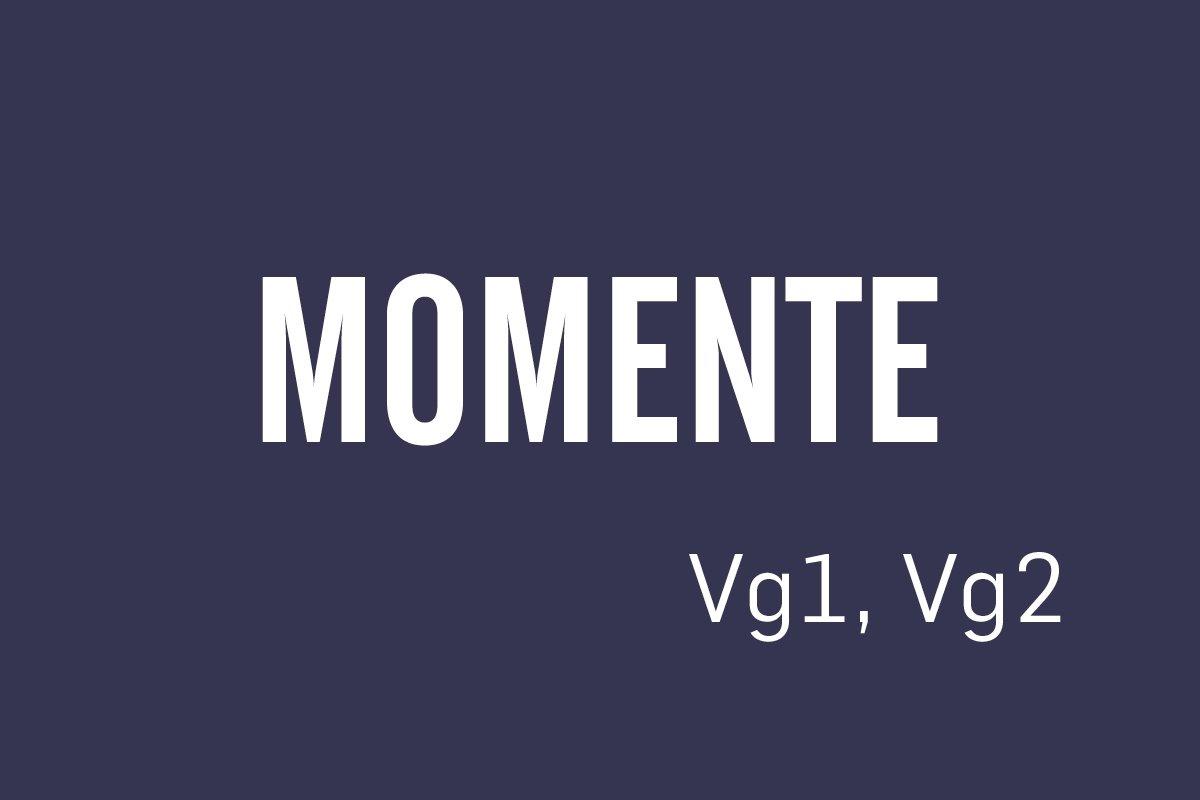 Logobilde Momente Vg1, Vg2