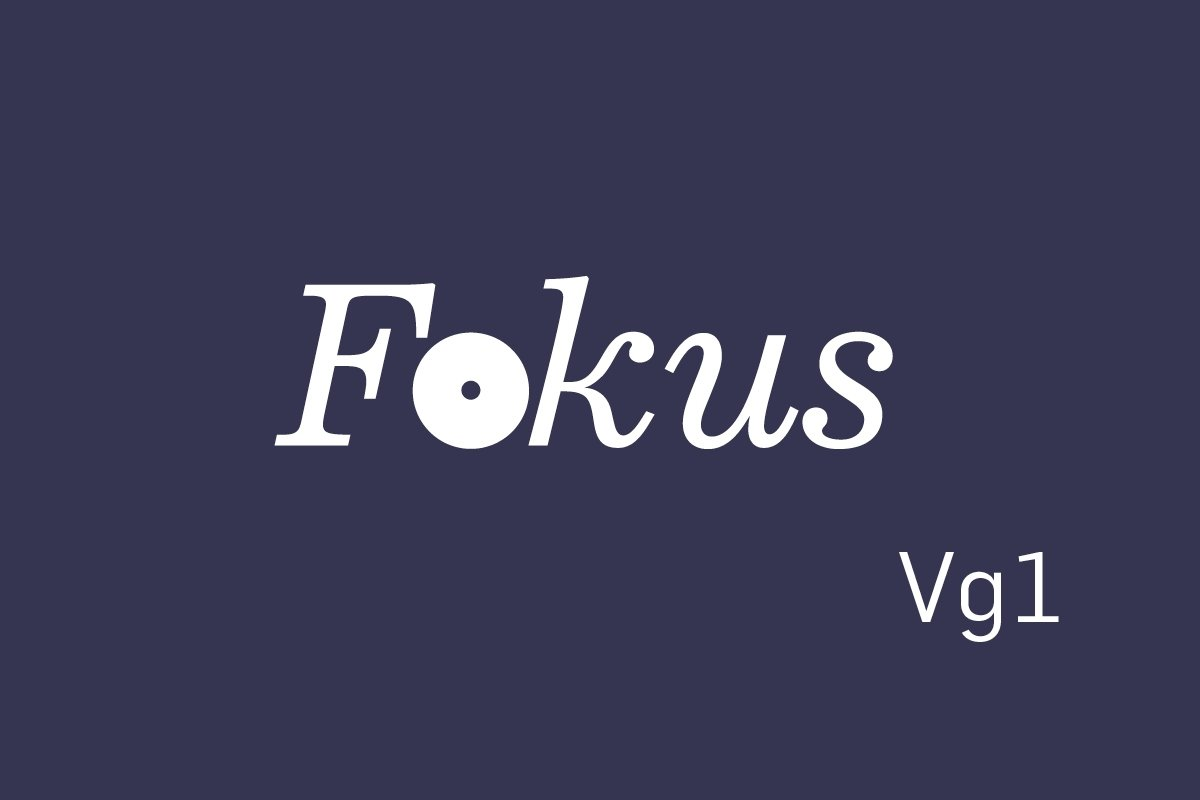 Logobilde Fokus Vg1
